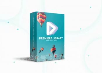 专业Premiere Pro的800个效果库和元素的库 Premiere Library